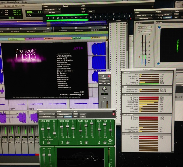 Pro Tools 10HD arrives at the Smokehouse